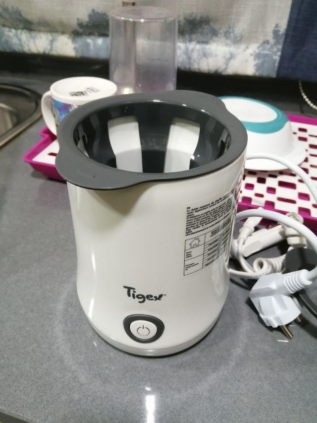 Calienta biberones marca tigex