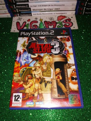 Metal slug 3 ps2 Playstation 2 play 2