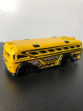 Autobús escolar hotwheels