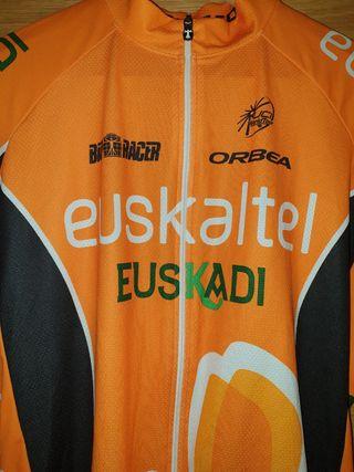 Maillot ciclismo Bioracer Euskaltel Euskadi XL