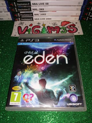 Child of eden ps3 Playstation 3 play 3