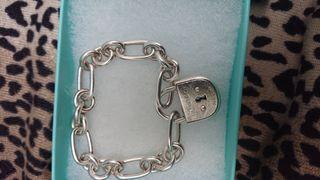 pulsera plata tiffany