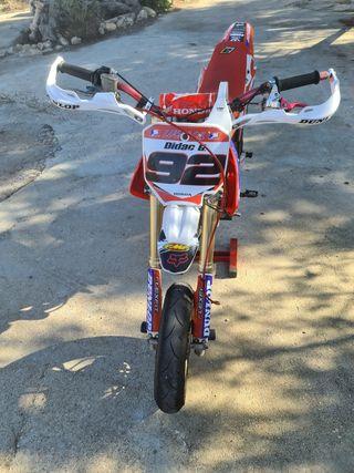 Honda cr 85 r supermotard