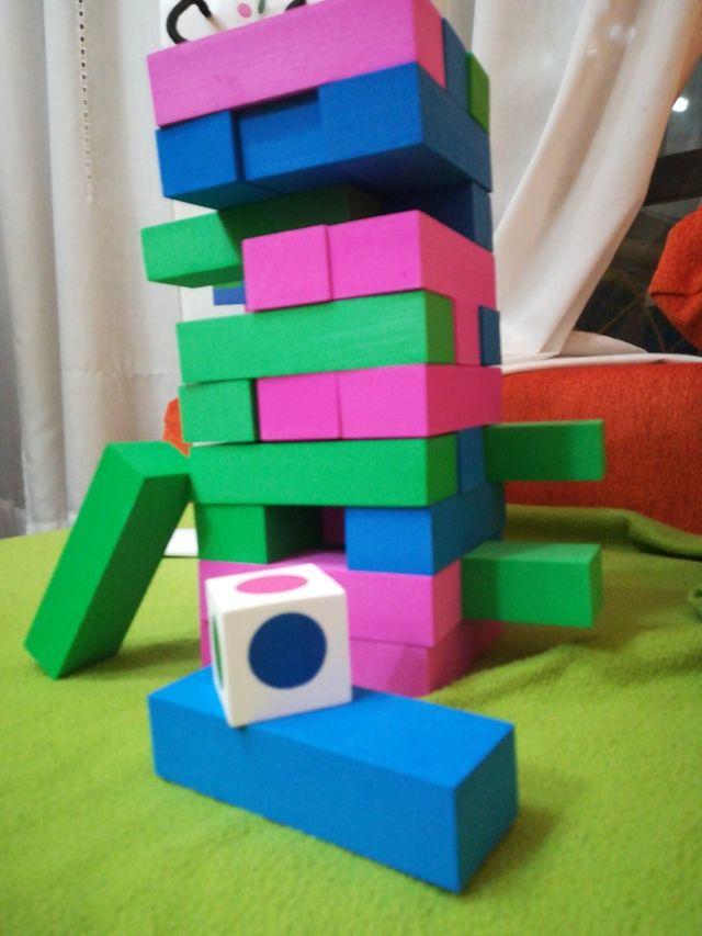 juego de apilar bloques