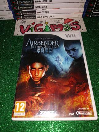 Airbender El último guerrero Nintendo Wii