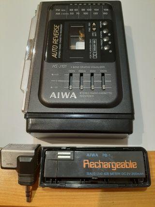 Stereo radio cassette vintage recorder Aiwa