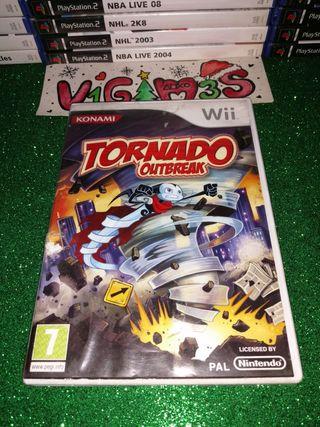 Tornado Outbreak Nintendo wii
