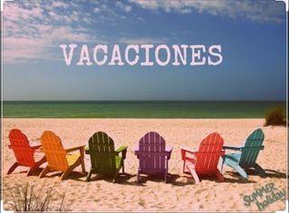 Modo vacaciones hasta abril