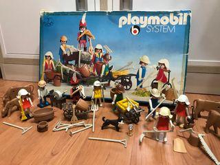 Campesinos Playmobil. Ref. 3411.