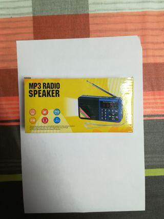 RADIO USB SD CON LINTERNA