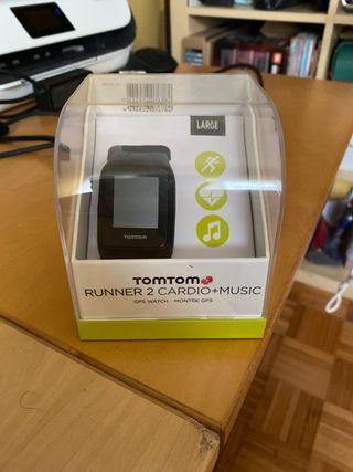 Reloj TomTom Runner 2 Cardio+Music