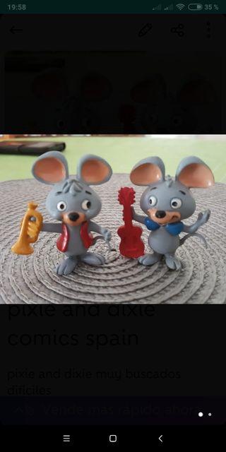 pixie and dixie figuras pvc
