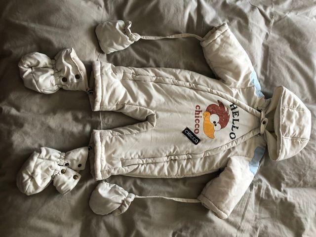 Abrigo buzo bebé 6 meses
