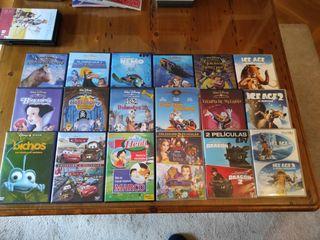 Pack DVD Películas originales Disney y Pixar