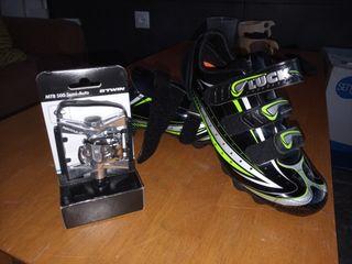 zapatillas y pedales