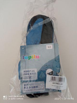 guantes nieve nuevos niño
