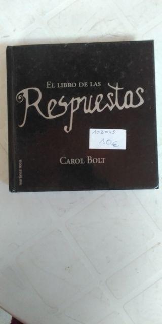 El libro de las respuestas de Carol Bolt