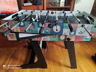 Mesa multijuego plegable