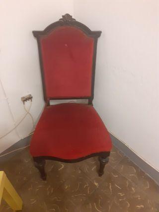 Conjunto estilo Luis XVI