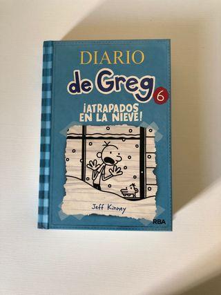 Diario de Greg. Atrapados en la nieve.