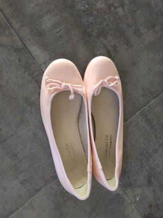 Bailarinas 38, Color: rosa salmón claro, Tamaris