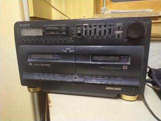 radio-cassette grabadora Sony