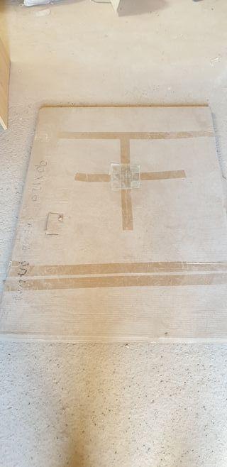 Plato de ducha NUEVO. 90x120