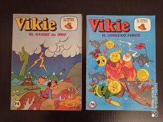 Comics años 80 de Vikie el Vikingo de la tele