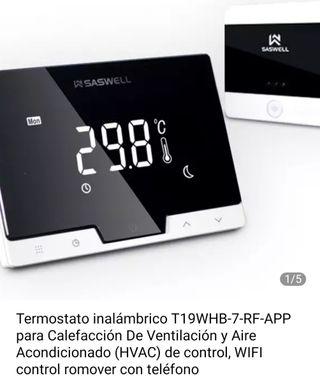 Termostato /Cromotermostato SASWELL / WIFI