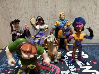 Figuras bully Disney.El jorobado de Notre dame.