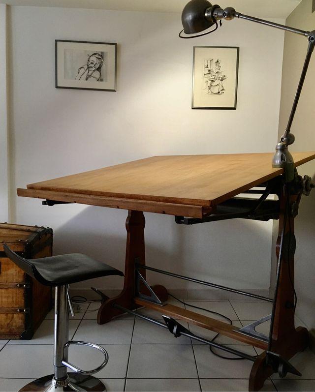 Table Architecte OZA - Années 50