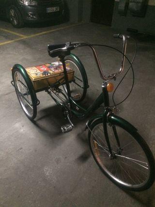 Bicicleta triciclo adulto