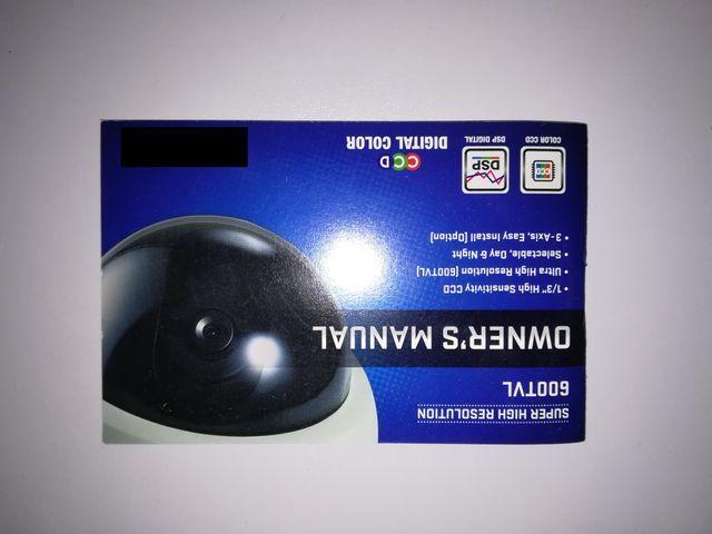 CAMARA MINIDOMO CCTV