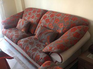 Sofá + sillón