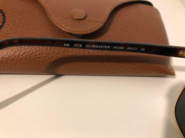 Gafas Ray-ban Clubmaster RB3016 W0366