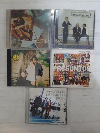 CDS PRESUNTOS IMPLICADOS - AUTOGRAFIADO !!!!!!!!