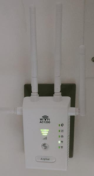 Repetidor wifi PLC
