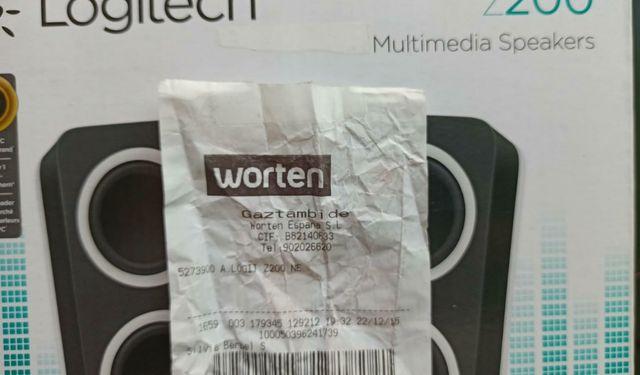 Altavoces Para Portátil/Tablet/Movil-(Precintados)