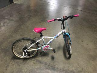 """Bicicleta niña 20"""" Decatlhon"""