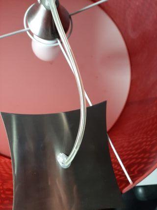 lampara vase acero inoxidable