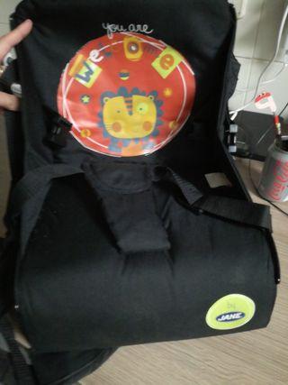 Trona viaje, bolsa y silla de bebé