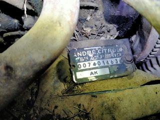 motor y cambio 2,CV antiguo