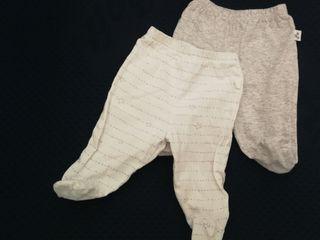 Pack 2Polainas/ Pantalones recién nacido