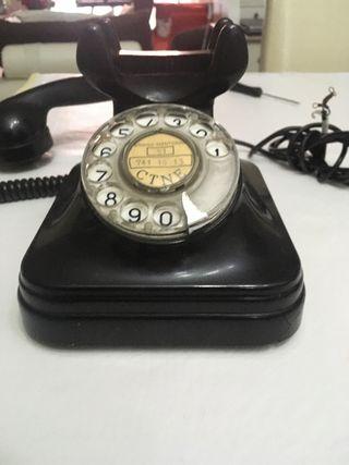 ANTIGUO TELÉFONO DE BAQUELITA ANOS 50/60