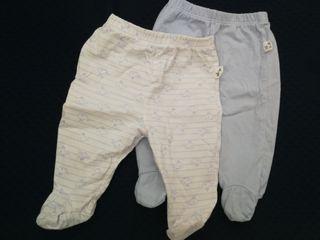 Pack 2polainas /Pantalones recién nacido