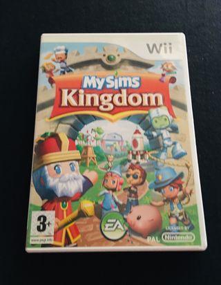 My sims kingdom para wii