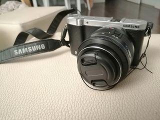 Cámara evil Samsung NX3000 como nueva