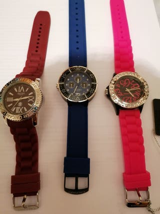 relojes calgary y time force