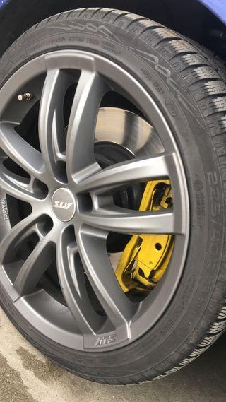 """Llantas ATS 18"""" neumáticos nuevos"""
