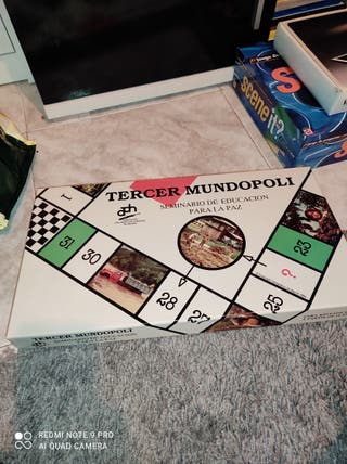 juego de TERCER MUNDOPOLI